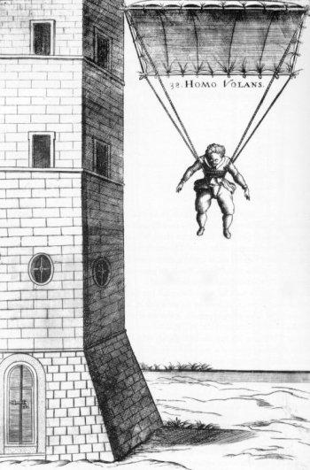 A Verancsics Faustus-féle repülő terve