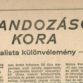 Kalandozások kora '82-ből